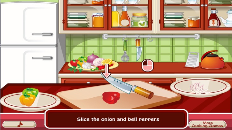 Cooking the First Chicken - girl games for kids