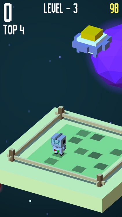 Falling Danger - be careful of the spider and UFO screenshot-0