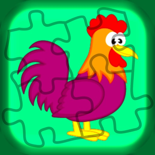 The Eyes : Animal life jigsaw puzzle for children iOS App