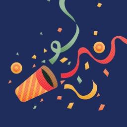 Happy Birthday Stickers by Kappboom