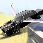 超 飞行 汽车 赛车 游戏