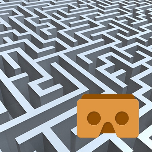 VR Maze Walk with Google Cardboard