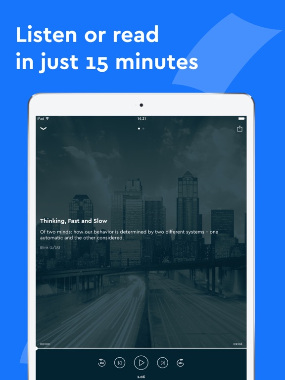Blinkist - Always Learning Screenshot