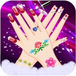 Princess Nail Spa Salon Beauty Fashion Girls Games