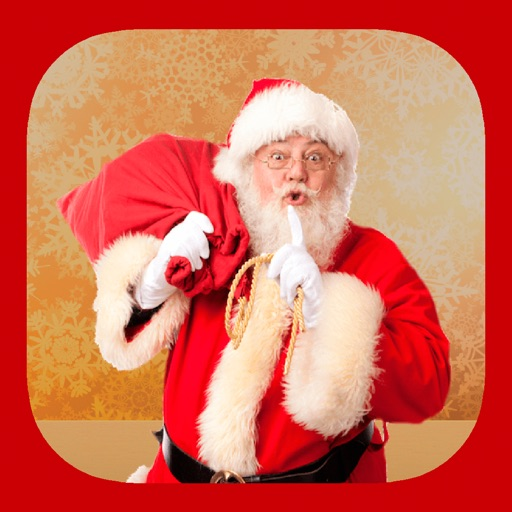 Santa Claus stickers - your photo on Christmas