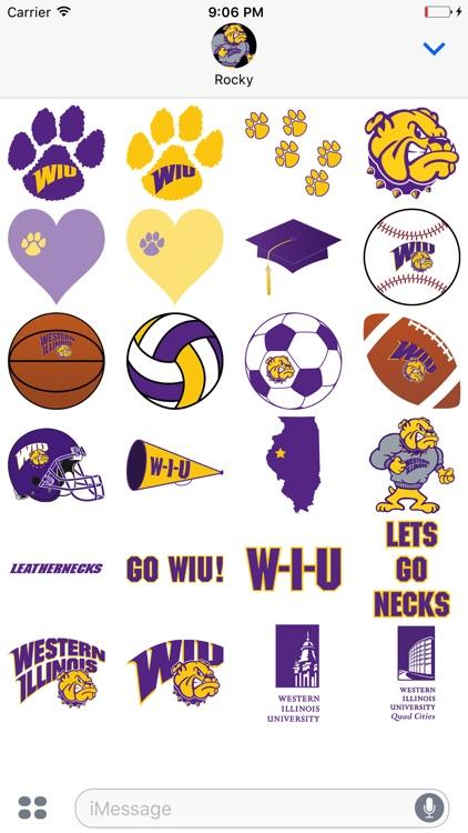 WIU Stickers