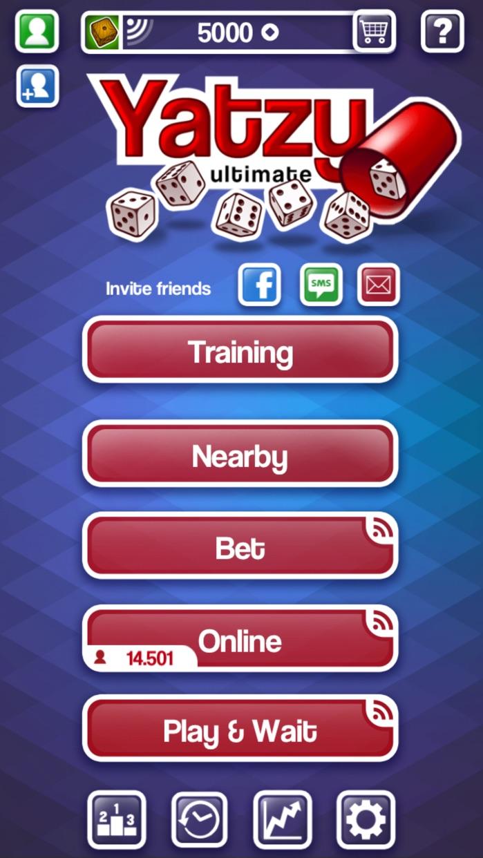 Yatzy Ultimate Free - Best Dice Game - roll & win Screenshot