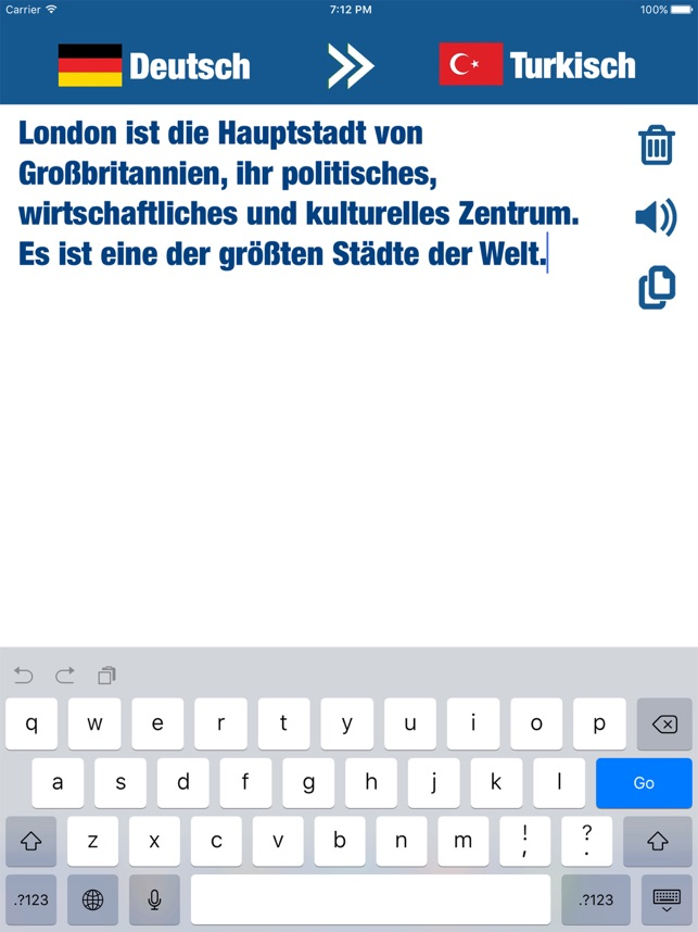 übersetzer türkisch zu deutsch