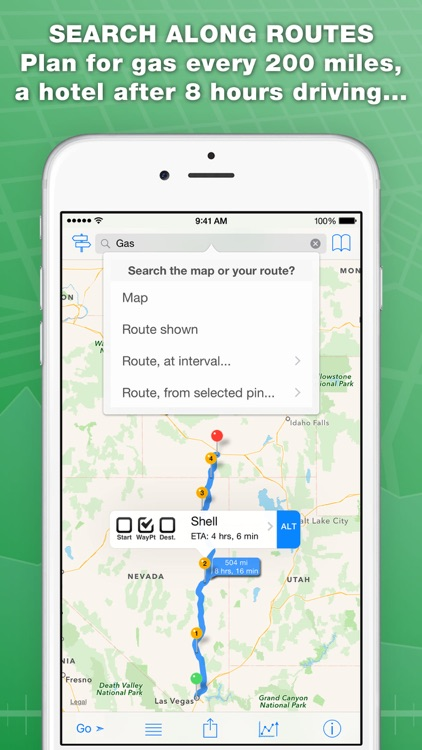 inRoute Route Planner & GPS Navigator screenshot-3