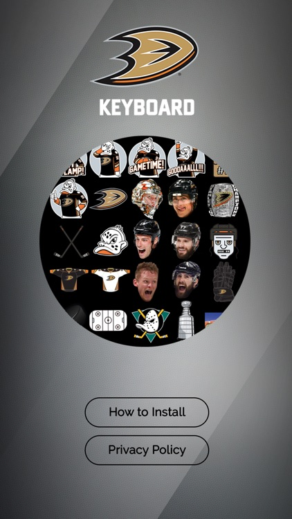 Anaheim Ducks Keyboard screenshot-3