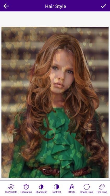 Woman Hair Style Photo Booth screenshot-4