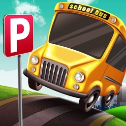 3D School Bus Parking Simulator Games