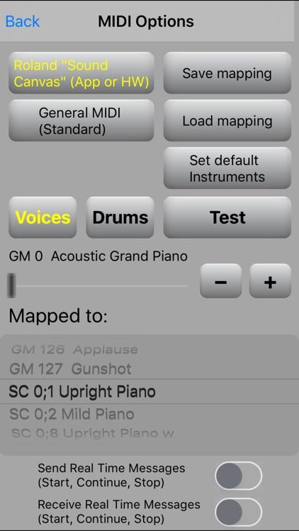 MIDI file player screenshot-3