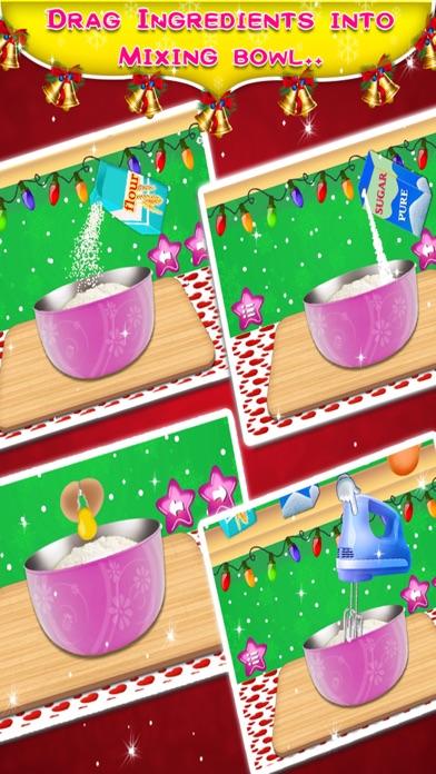 Christmas Birthday Cake Maker - Kids game for free screenshot two