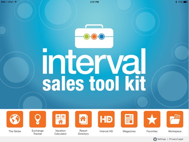 interval sales tool kit on the app store