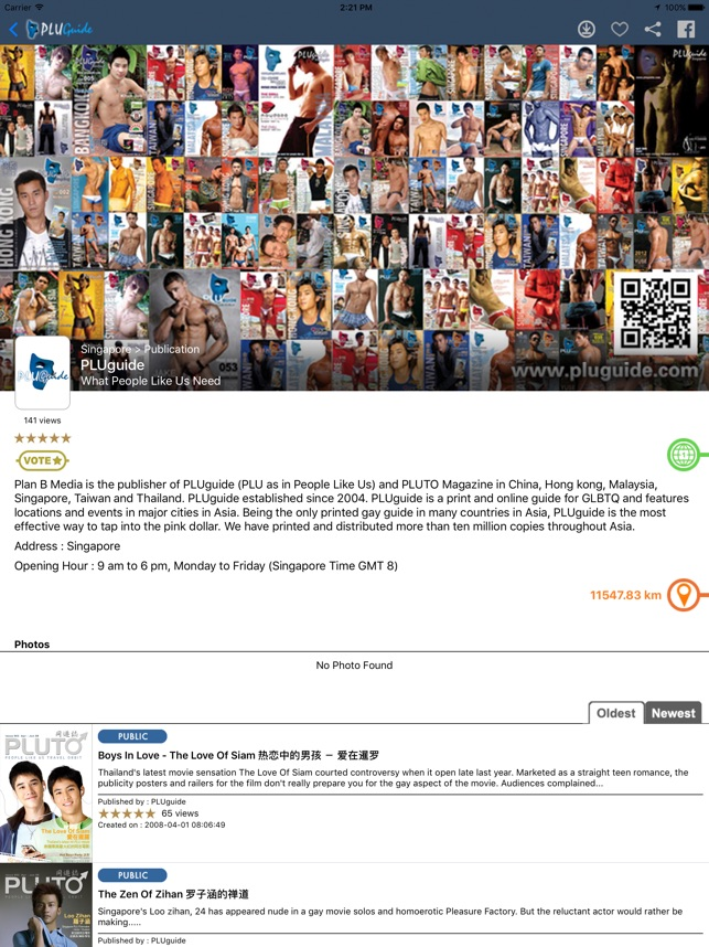 PLUguide Gay Travel App on the App Store