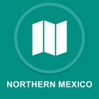 norte do Mexico : Off-line GPS Navigation icon