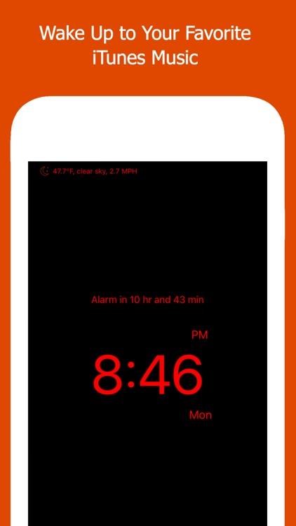 Move Alarm Clock (Music Alarm) screenshot-0