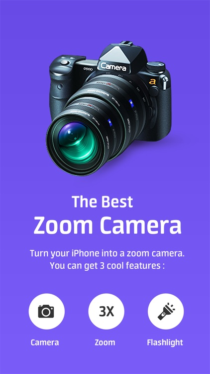Super Zoom Telephoto Camera with 32x Zoom Factor