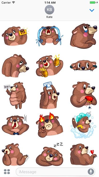 Teddy! Stickers
