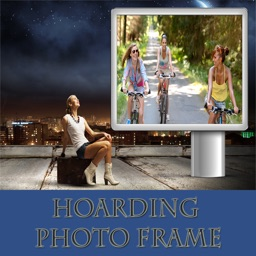 3D Hoarding Photo Frame  And Pic Collage