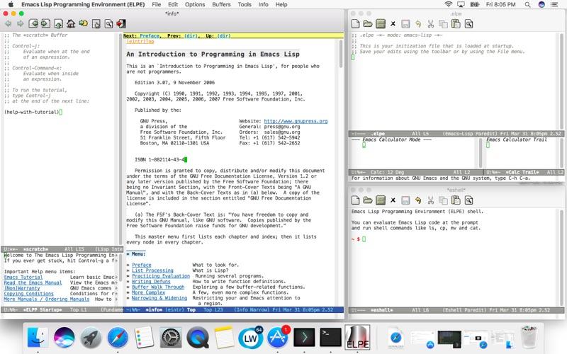 Emacs Lisp Programming Environment (ELPE) | App Price Drops