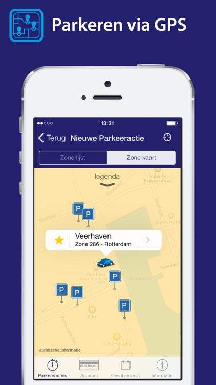 Park-line App screenshot-0
