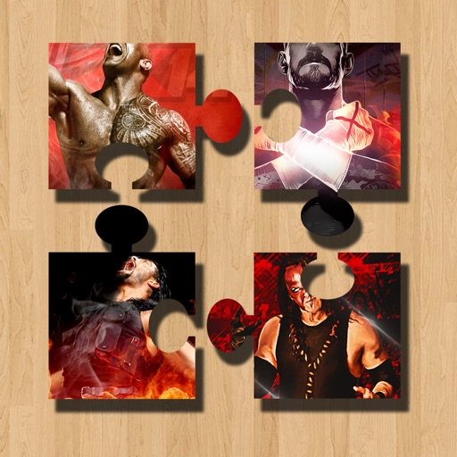 Wrestling Star Jigsaw Puzzle For WWE Champions app logo
