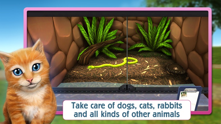 PetWorld 3D: My own Animal Rescue screenshot-3