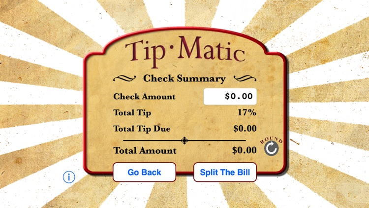 TipMatic Tip Calculator