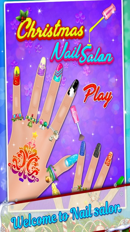 Christmas Nail Salon - Girls game for Xmas