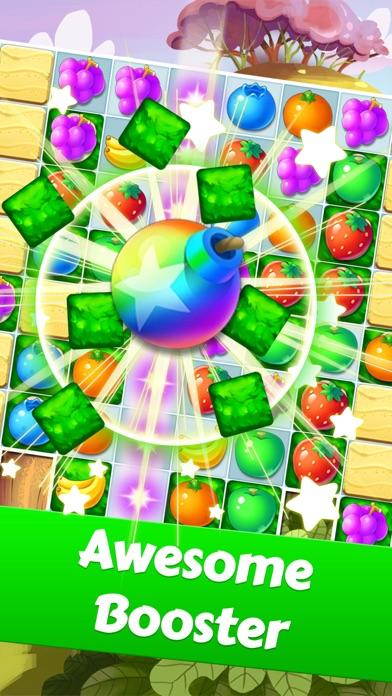 Fruit Yummy Pop - Garden Drop Match 3 Puzzle screenshot 2