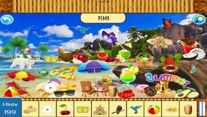 Hidden Objects:Summer Beach Party screenshot two