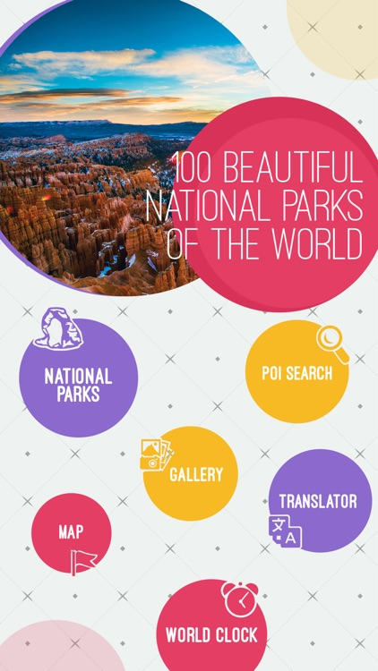 100 Beautiful National Parks of the World