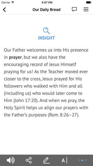Our Daily Bread On The App Store