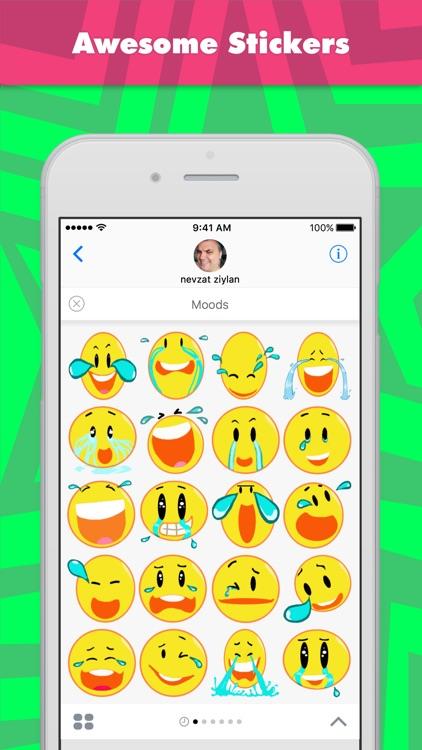 Moods stickers by Nevzat