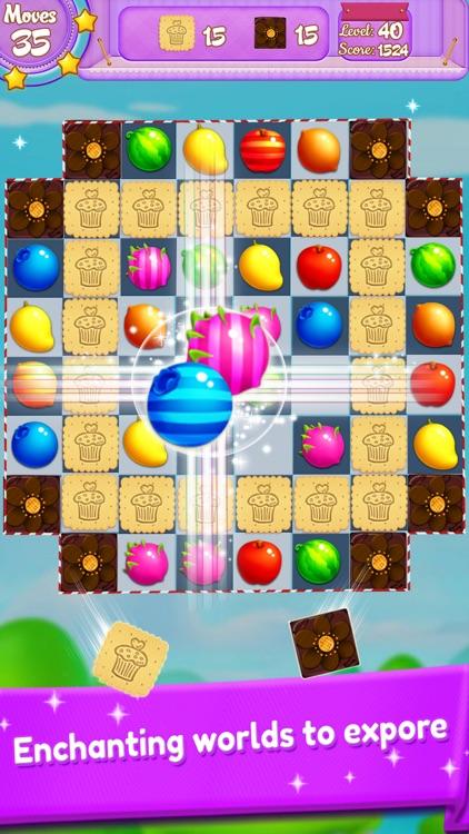 Candy Fruit Match 3 screenshot-3
