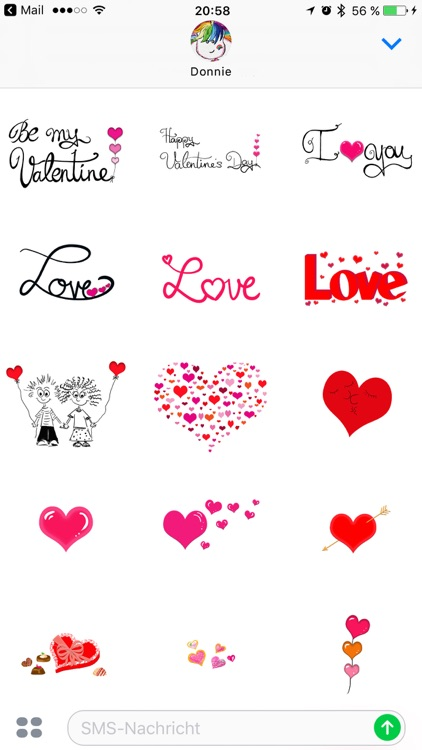 Ultimate Valentines Sticker Pack