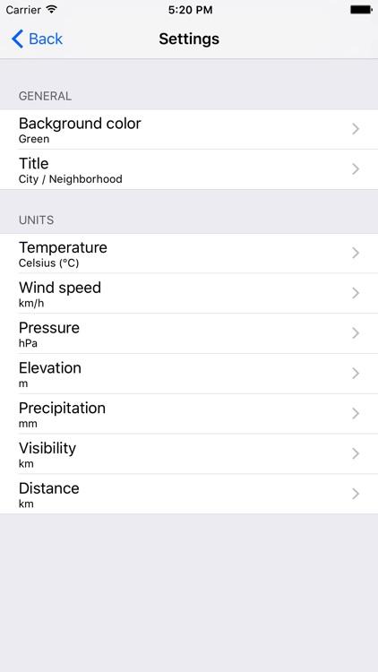 Weather Station .CZ screenshot-3