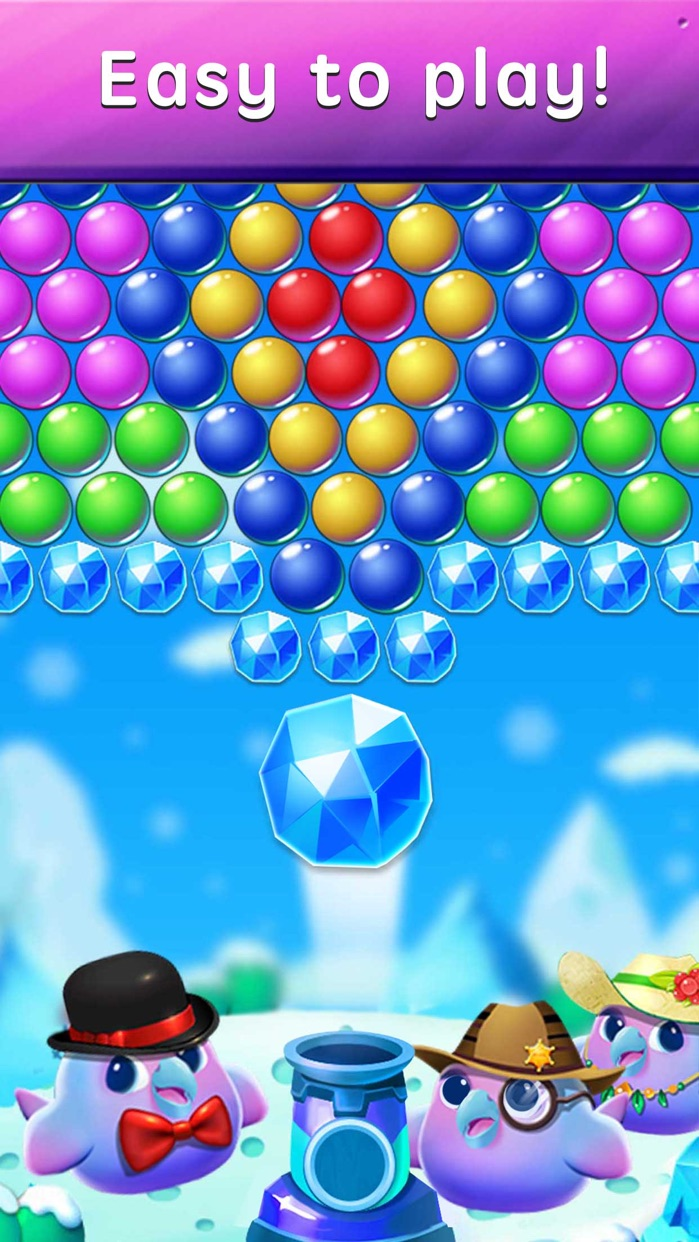Bubble Shooter - Fashion Bird Screenshot