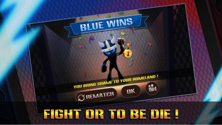 Stickman Warriors: UFB Fighting screenshot-4