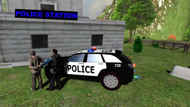 Hill Police vs Gangsters Chase screenshot-3