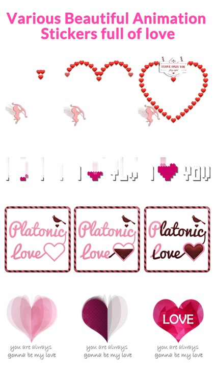 Lovely Animated Stickers screenshot-4