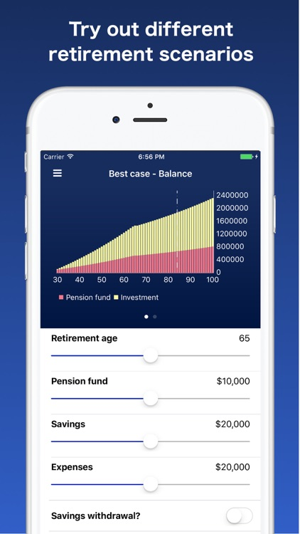 Retire Early+ - your retirement calculator