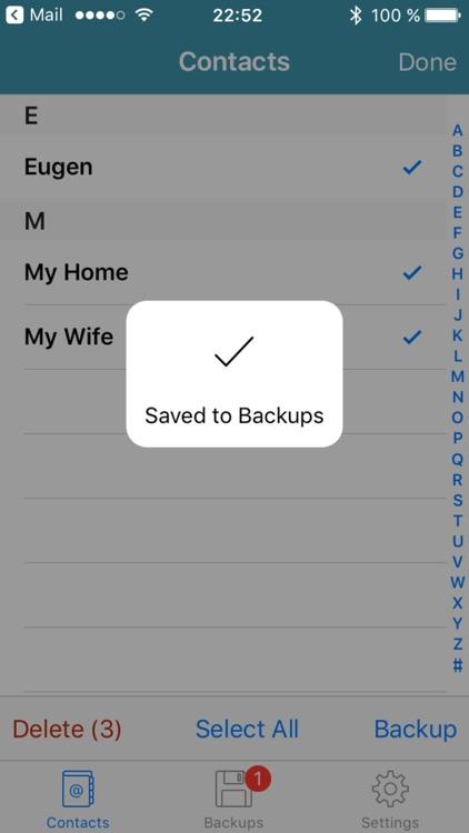 Address Book Converter to TXT File screenshot-3