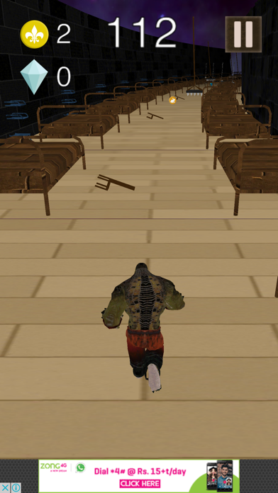 3D Super Run for Suicide Fighters screenshot one