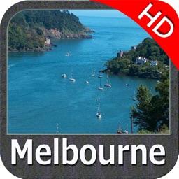 Marine : Melbourne HD - GPS Map Navigator