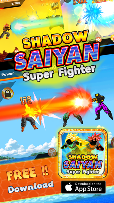 Shadow Saiyan Super Fighter