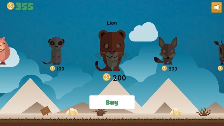 Jumping Desert Animal Challenge: Flipping for Fun!