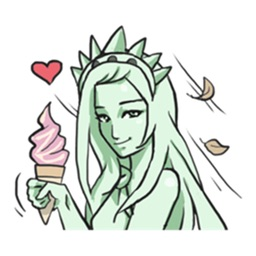 The Statue Of Liberty Cosplay Sticker